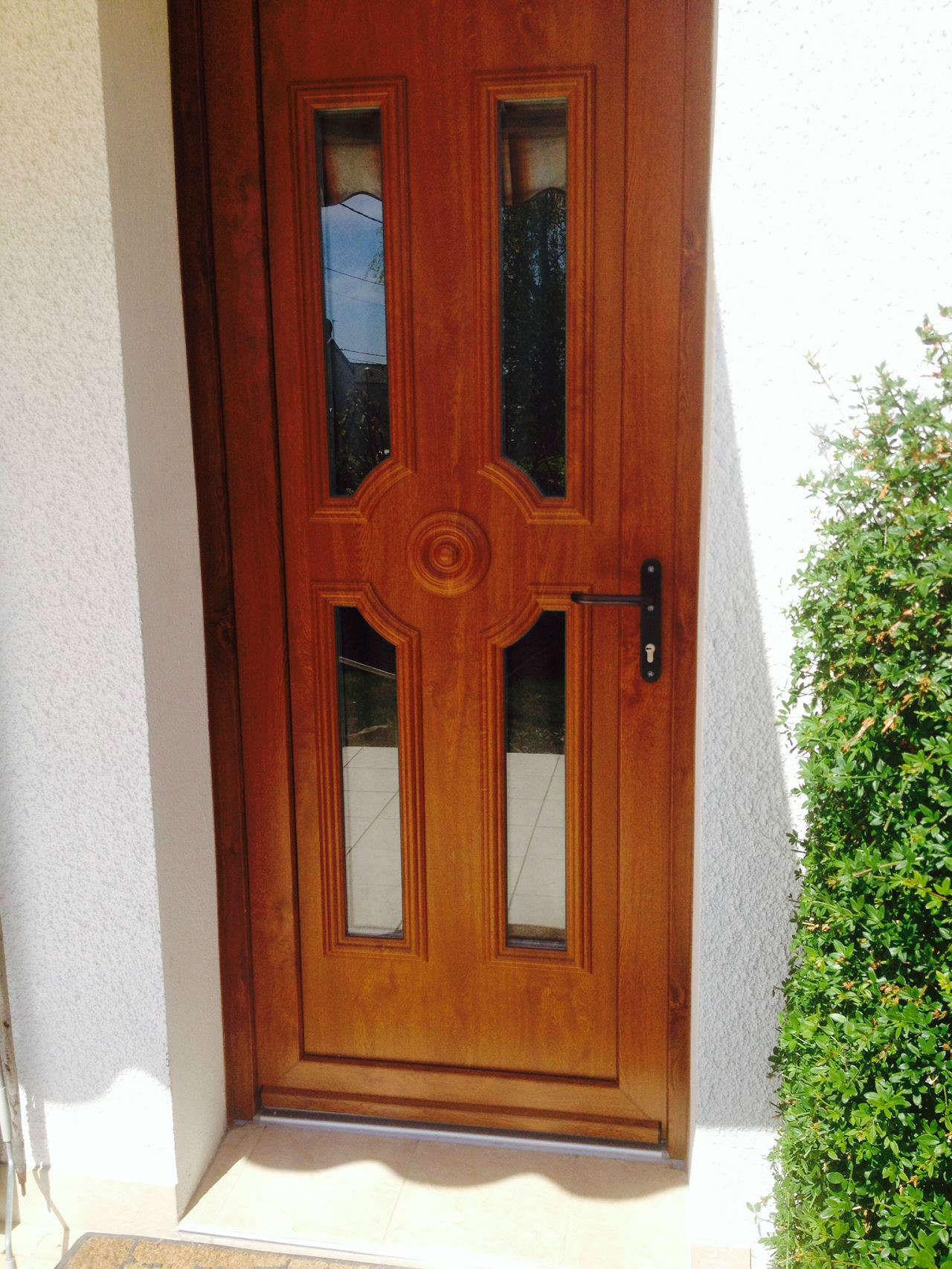 Porte d 39 entr e troyes maytop iso 10 int rieur bois fen tre pvc - Habillage interieur porte d entree ...